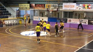 Júnior B vs. C.B. Blanes